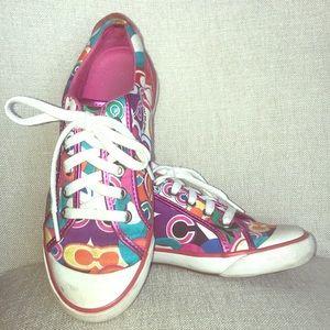 Coach Poppy Barrett Pop C Sneakers